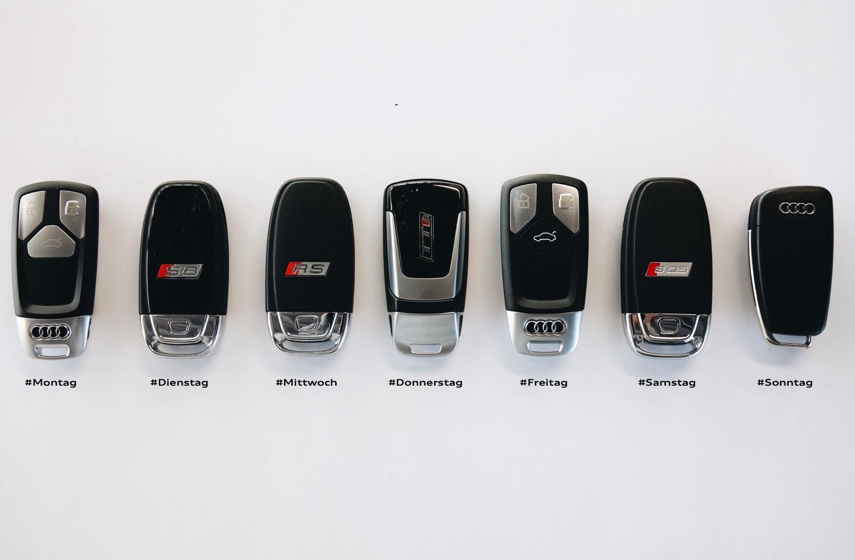 Audi Replacement Car Keys